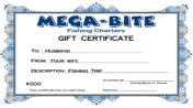 fishing charter gift certificates