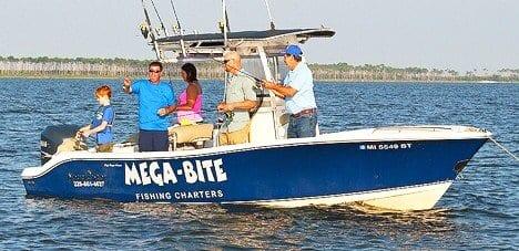 Fishing in the Biloxi Bay